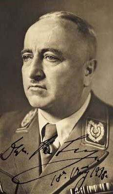 Йозеф Бюркель. 1938 г.