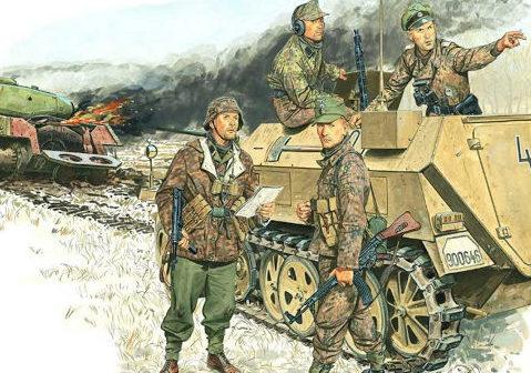 Volstad Ronald. Курляндия. 1944 год.