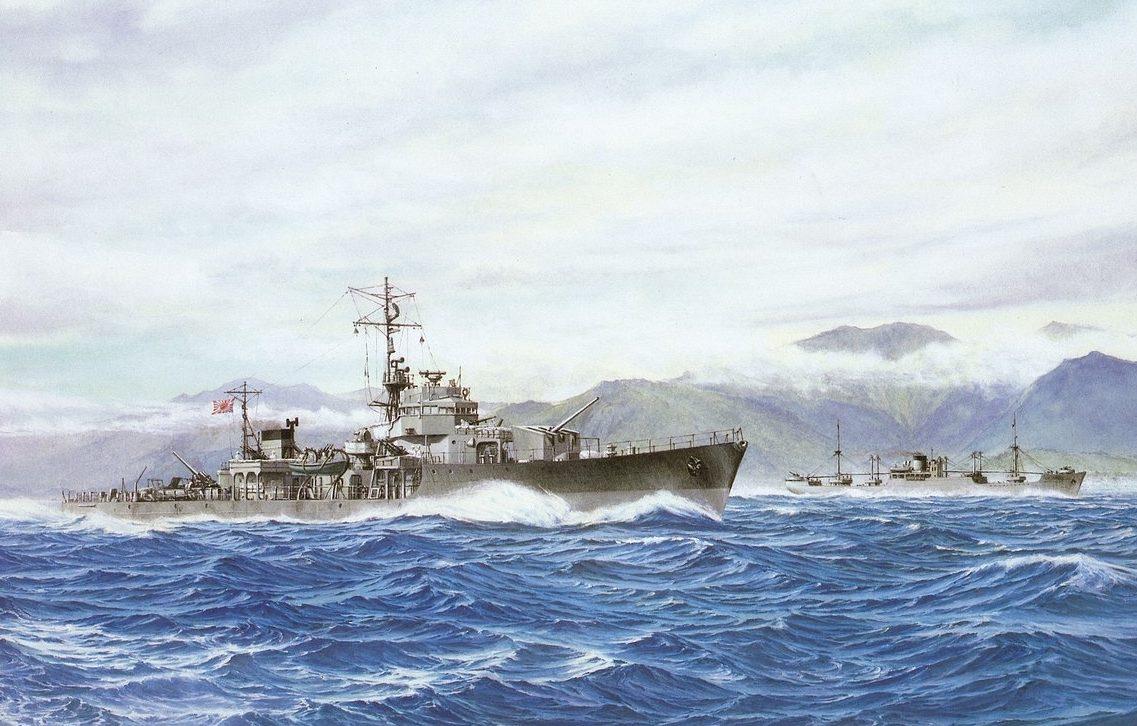 Takeshi Yuki. Сопровождение торгового судна.