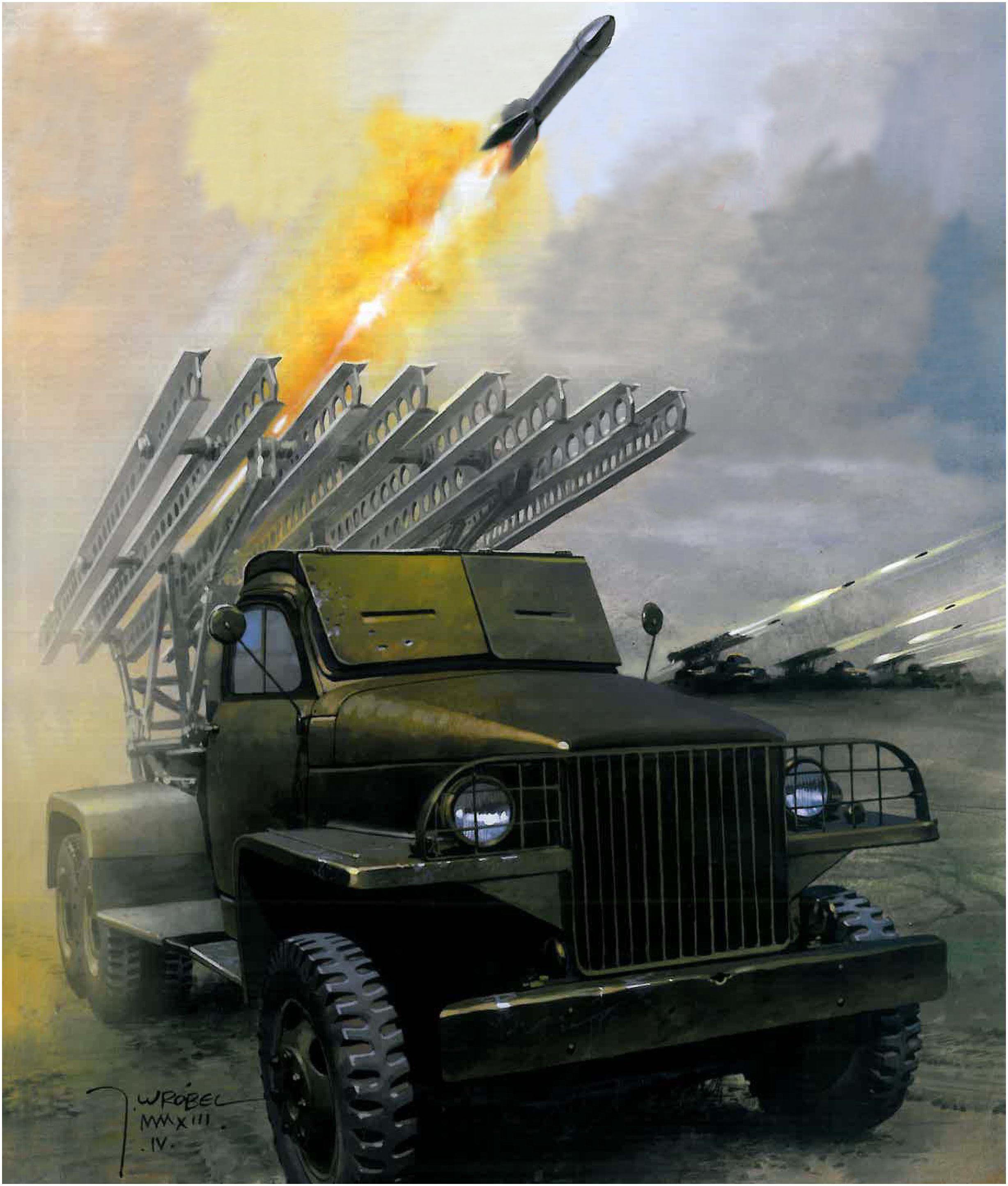 Wrobel Jaroslaw. Пусковая установка БМ-13.