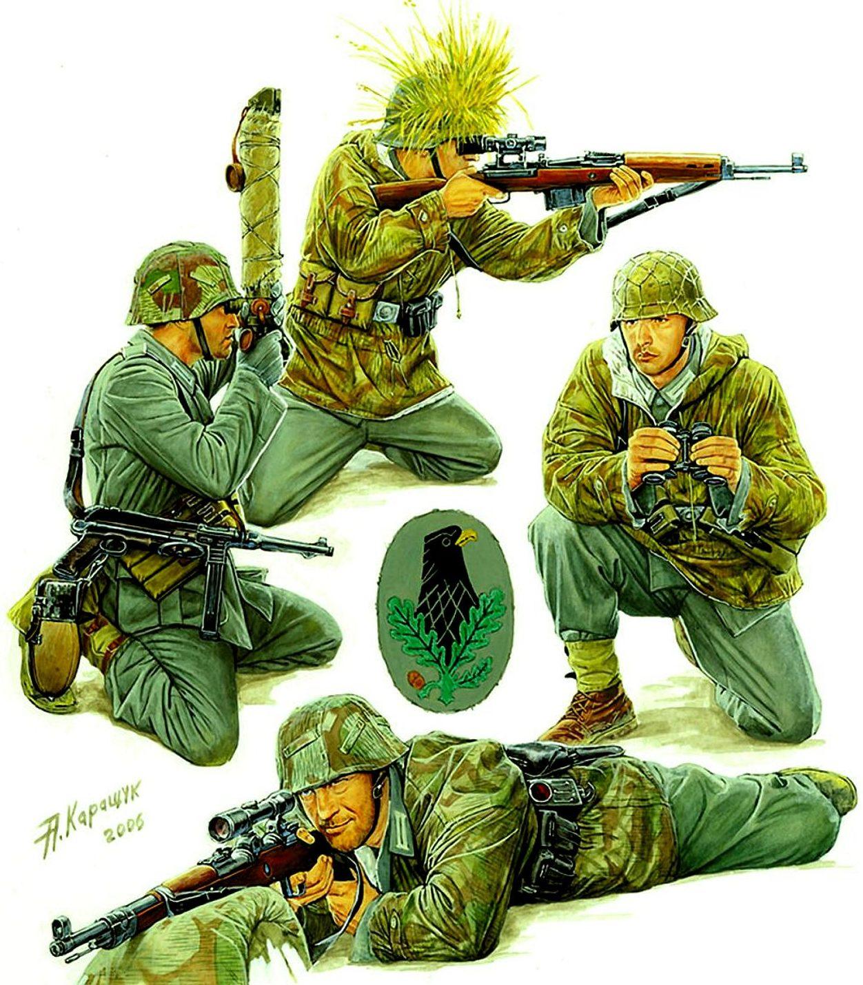 Снайперы.