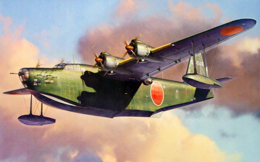 Shigeo Koike. Летающие лодки.