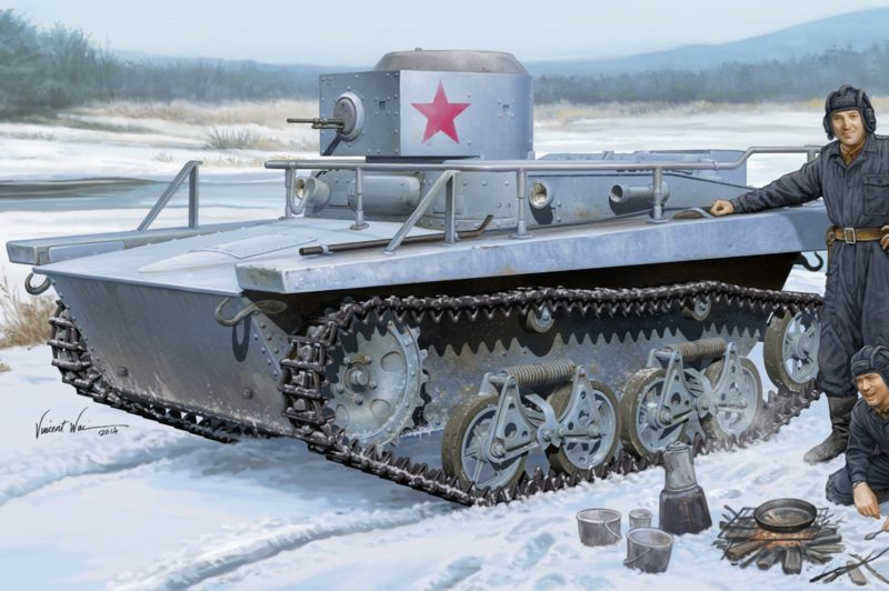 Wai Vincent. Плавающий танк Т-37.