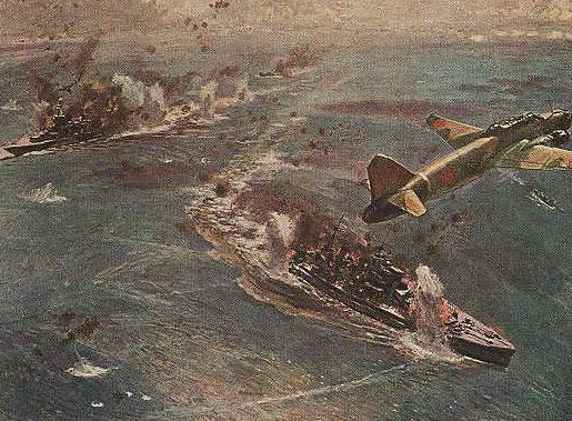 Nakamura Kenichi. Морская битва.