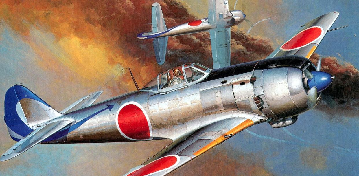 Shigeo Koike. Истребитель Nakajima Кi-84.