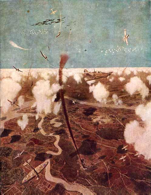 Tamura Takayuki. Бомбардировка на Бирме.