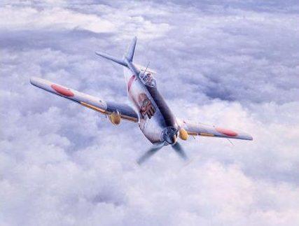 Shigeo Koike. Истребитель Nakajima Кi-87.