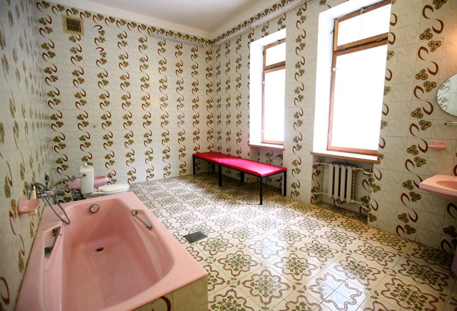 Знаменитая ванная.