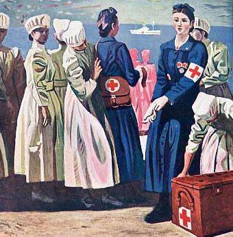 Tamura Takayuki. Медсестры.