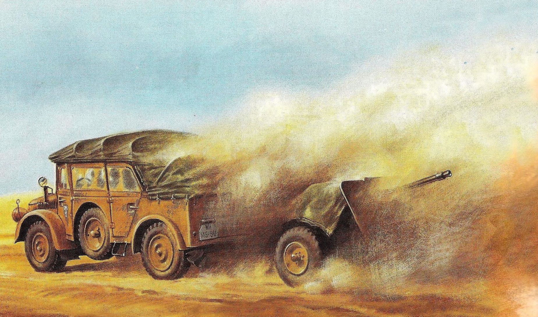 Wrobel Jaroslaw. Внедорожник Horch 4x4 Type 1a.