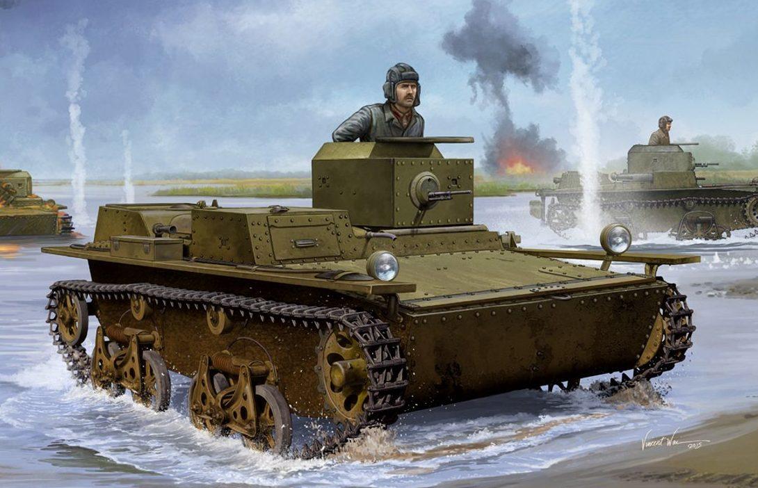 Wai Vincent. Плавающий танк Т-38.