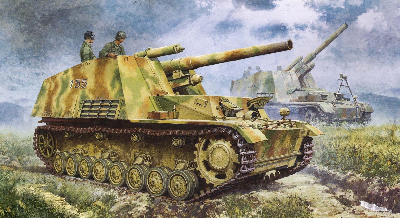 Heum Chang. САУ Sd.Kfz.165 Hummel.