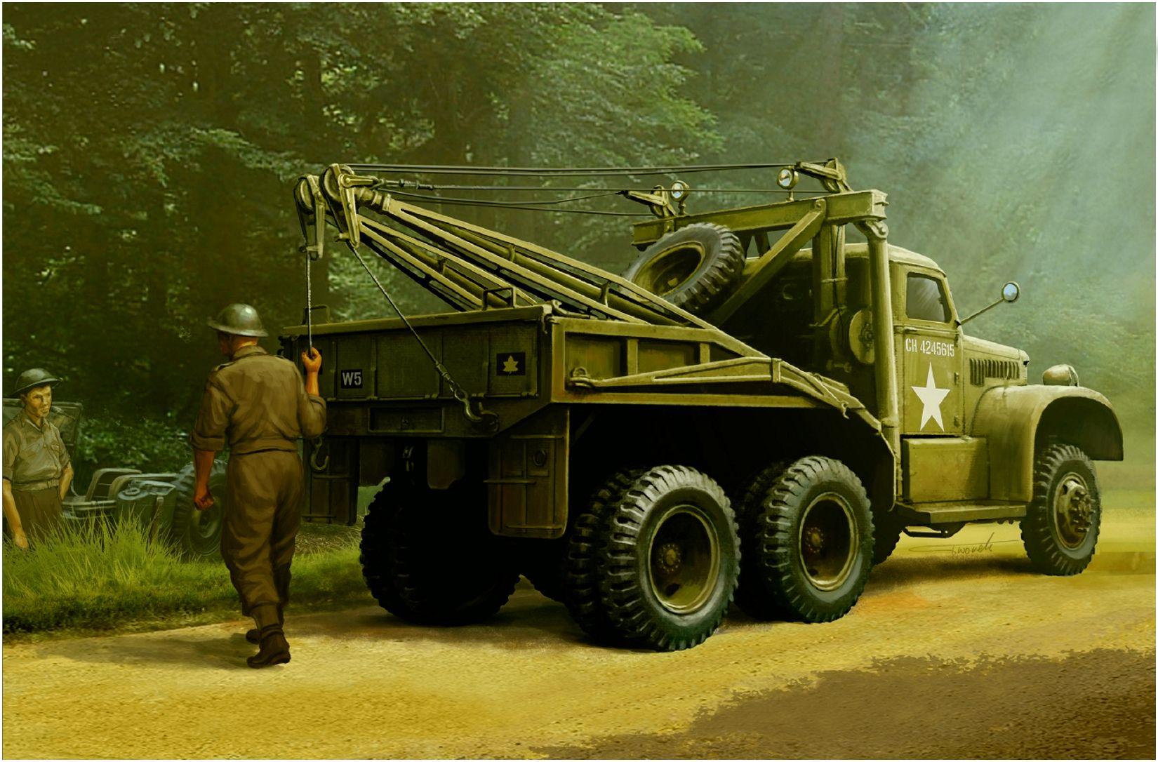 Wrobel Jaroslaw. РЭМ Diamond T 969A .