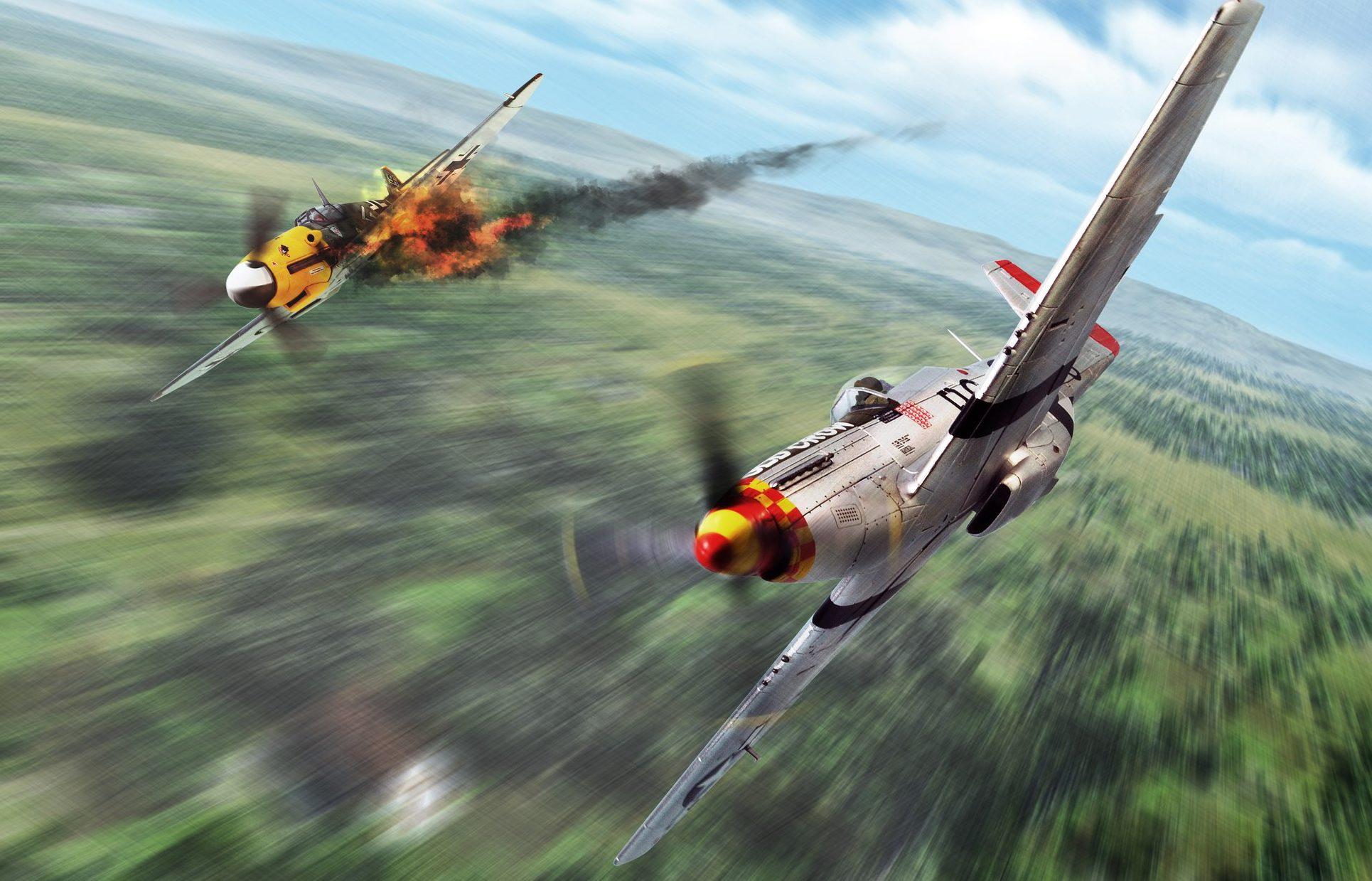 Kazu. Истребитель P-51D.