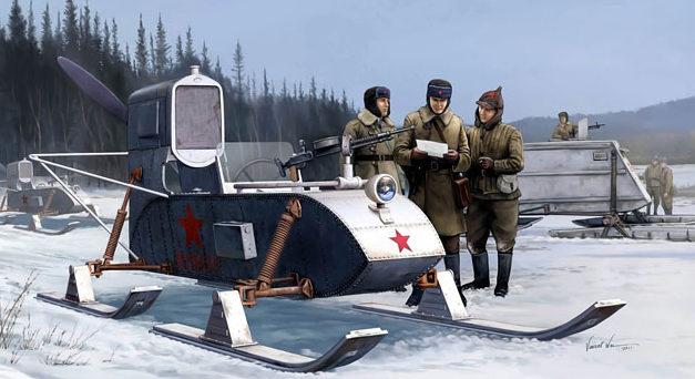 Wai Vincent. Аэросани РФ-8-ГАЗ-98.