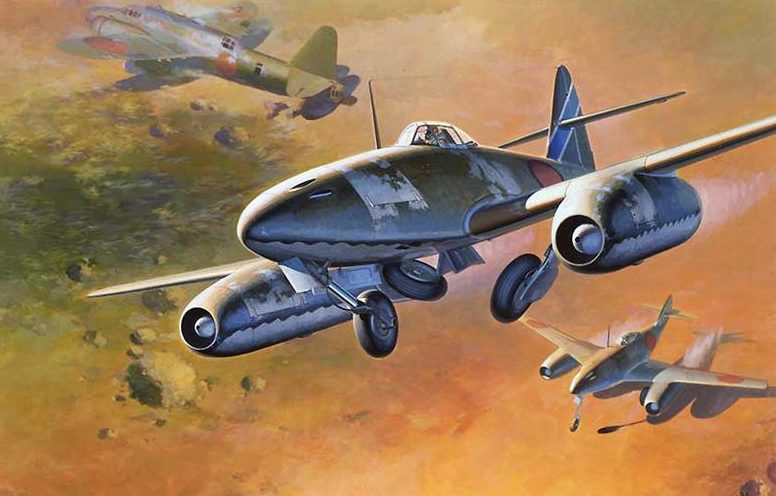 Shigeo Koike. Истребитель-бомбардировщик Nakajima Ki-201 «Karyu».