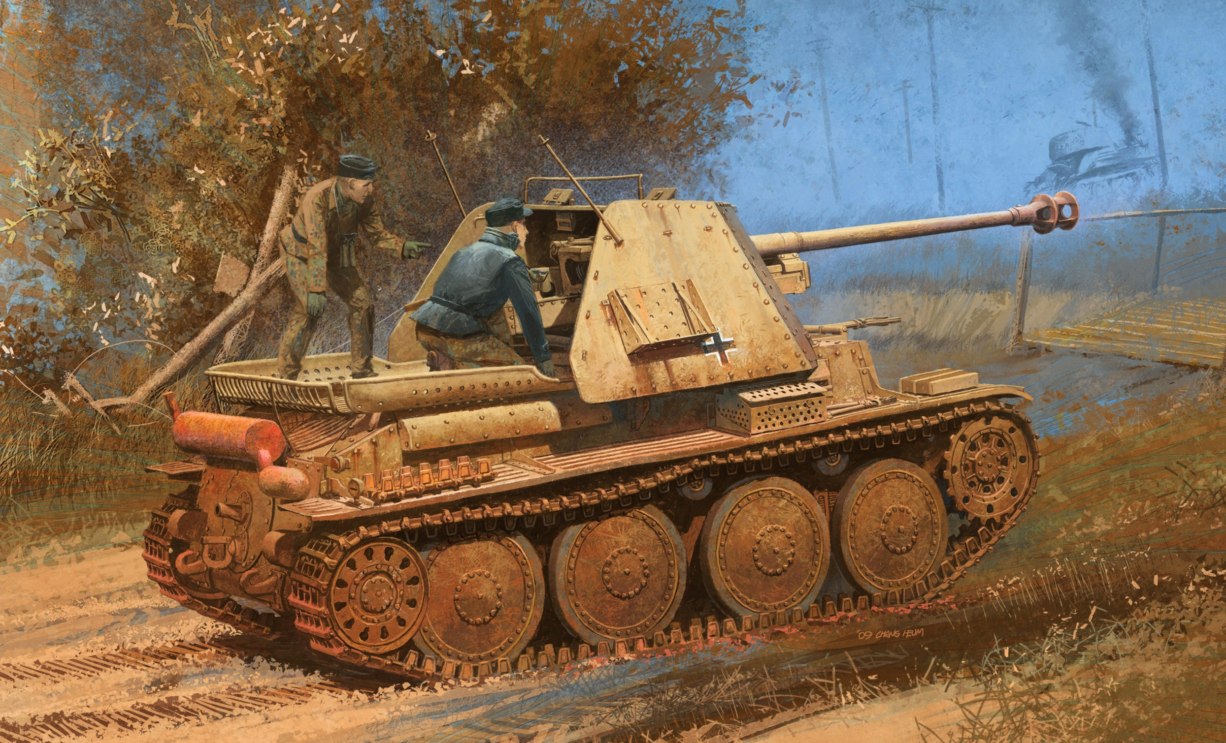 Heum Chang. САУ Marder III Ausf. H.