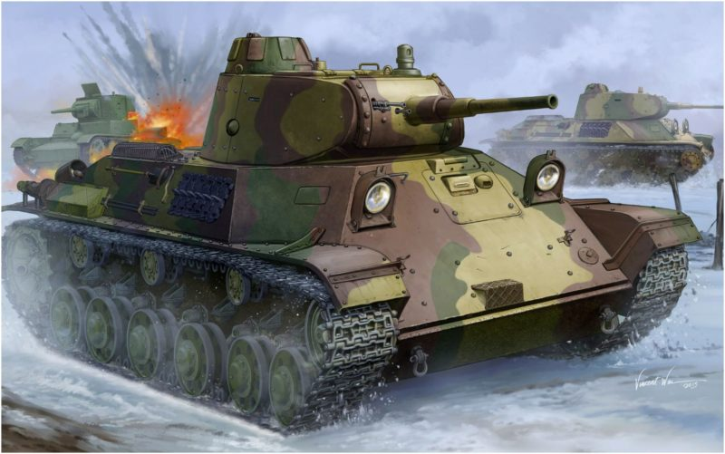 Wai Vincent. Танк Т-50.