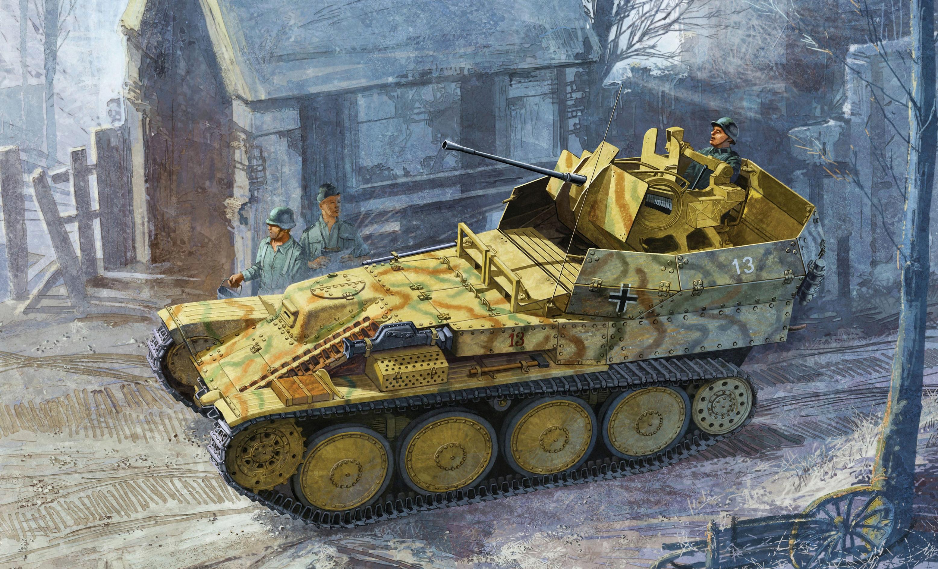 Heum Chang. ЗСУ Flakpanzer 38(t).
