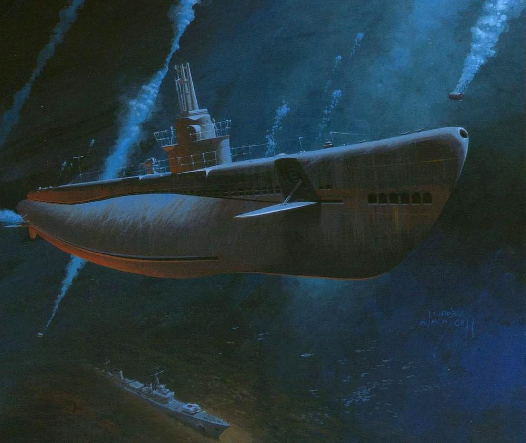 Wrobel Jaroslaw. Подлодка Spadefish.