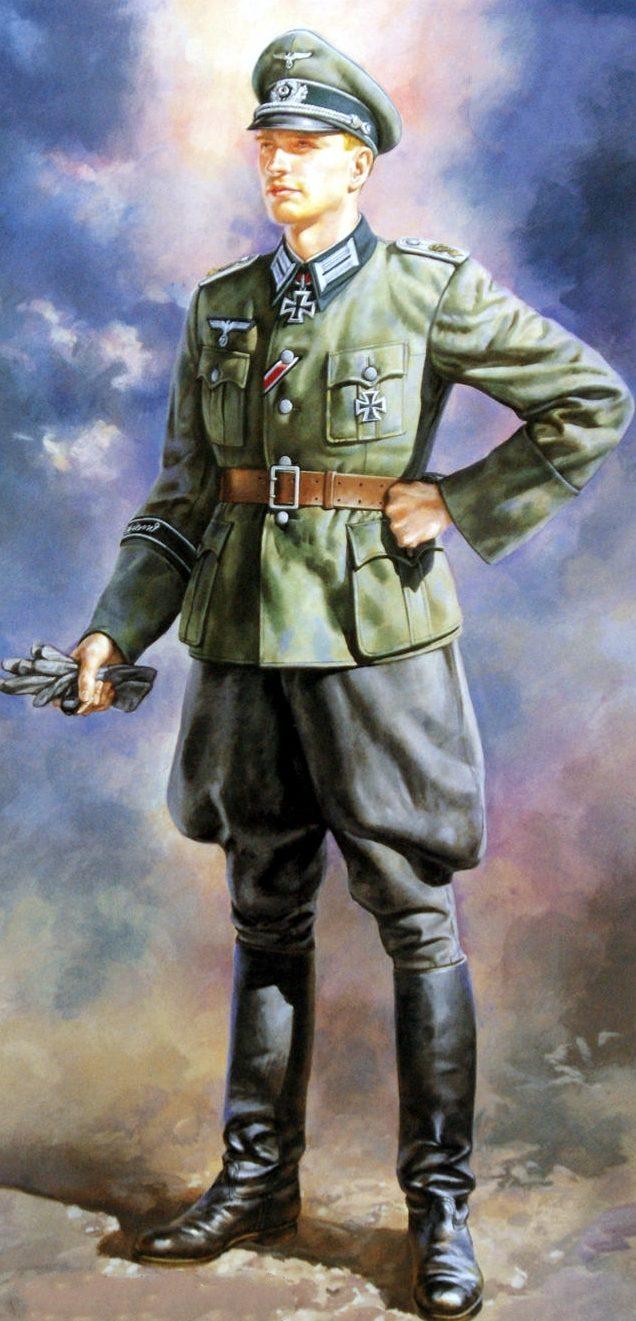 Onishi Masami. Немецкие офицеры.
