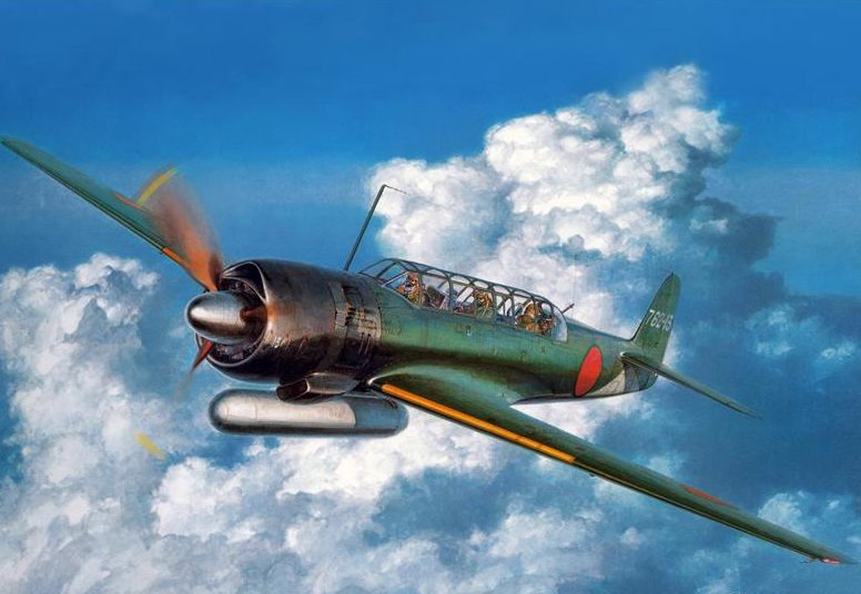 Shigeo Koike. Палубный разведчик Nakajima C-6N «Saiun».