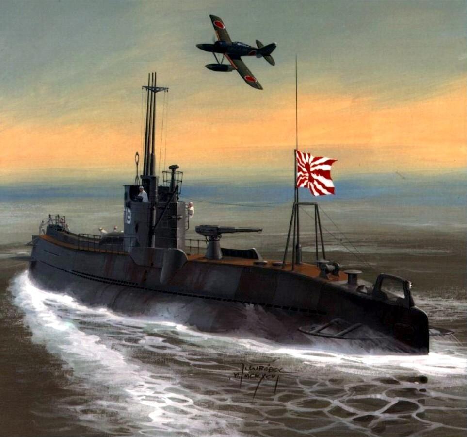 Wrobel Jaroslaw. Подлодка I-25 «Otsu-Gata».