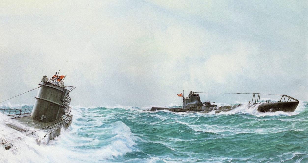 Wrobel Jaroslaw. Подлодки U-161 и I-8.