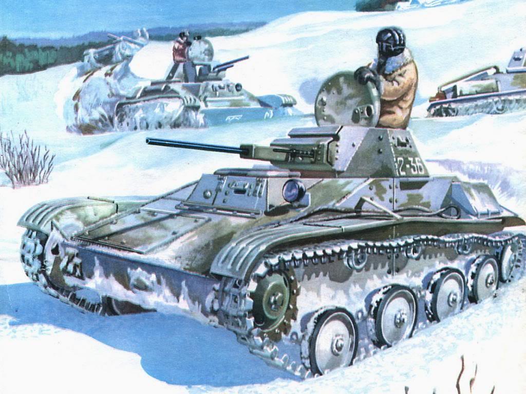 Wai Vincent. Танк Т-60.
