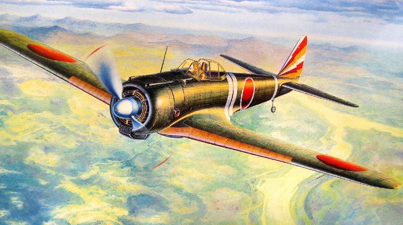Shigeo Koike. Истребитель Nakajima Ki-43 «Hayabusa».