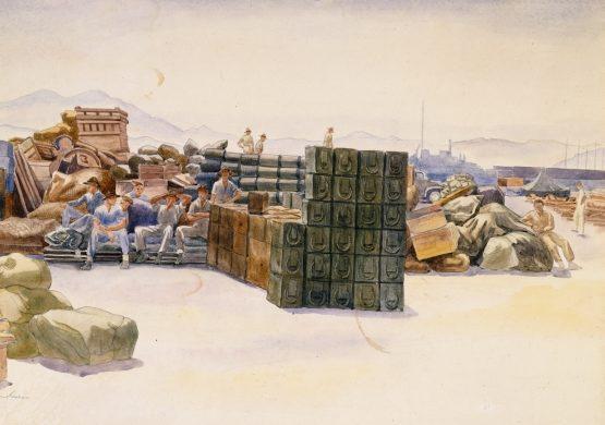 Barns-Graham Allan. Военный склад.