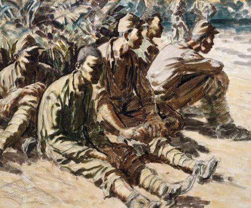 Clark Russell. Японские пленные.