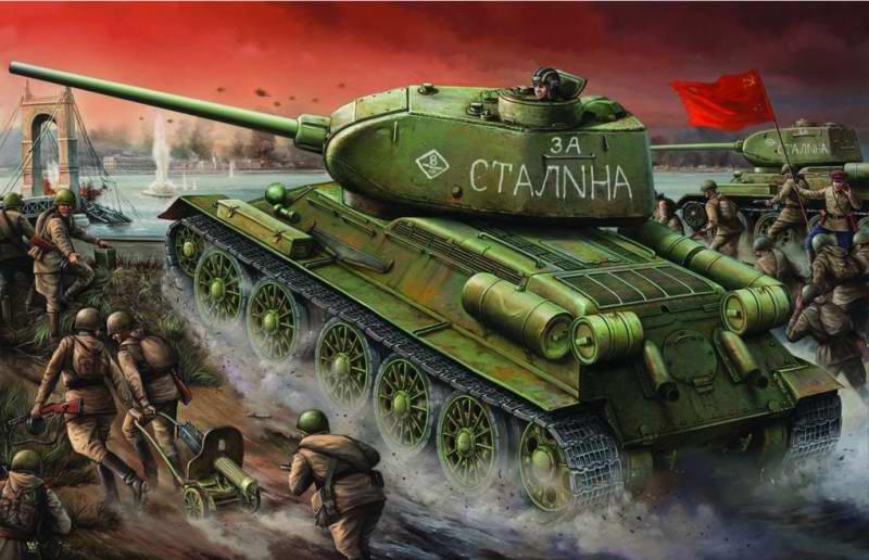 Wai Vincent. Красная Армия в предместье Берлина.