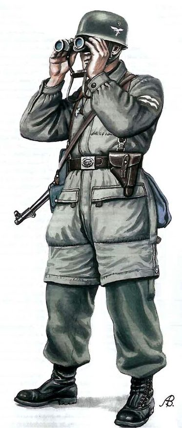 Солдаты Люфтваффе.