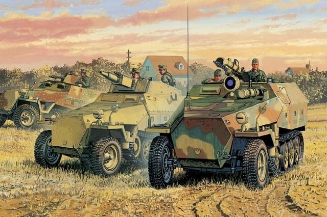 Satake Masao. Бронетранспортер Sd.Kfz.251/1 Ausf. D.