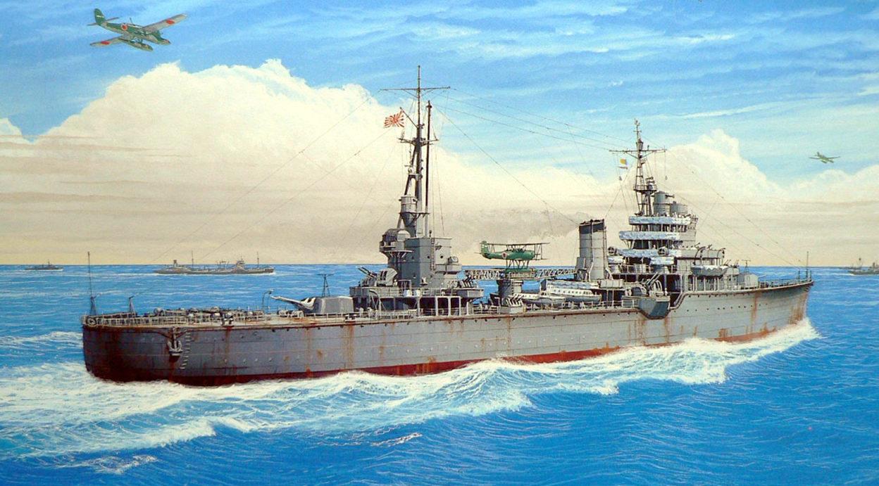 Ueda K. Легкий крейсер Kashii.