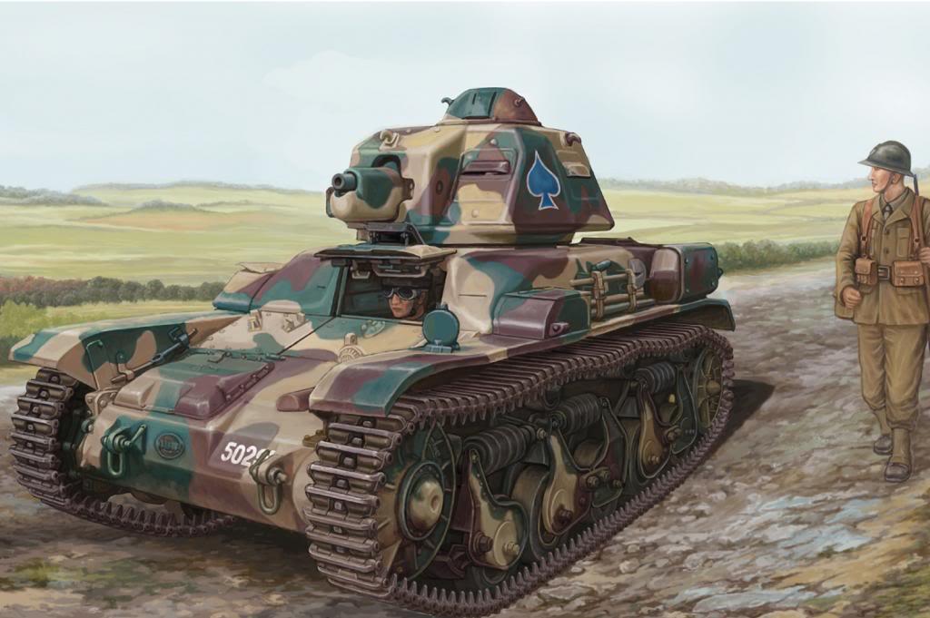 Wai Vincent. Легкий танк R-35.