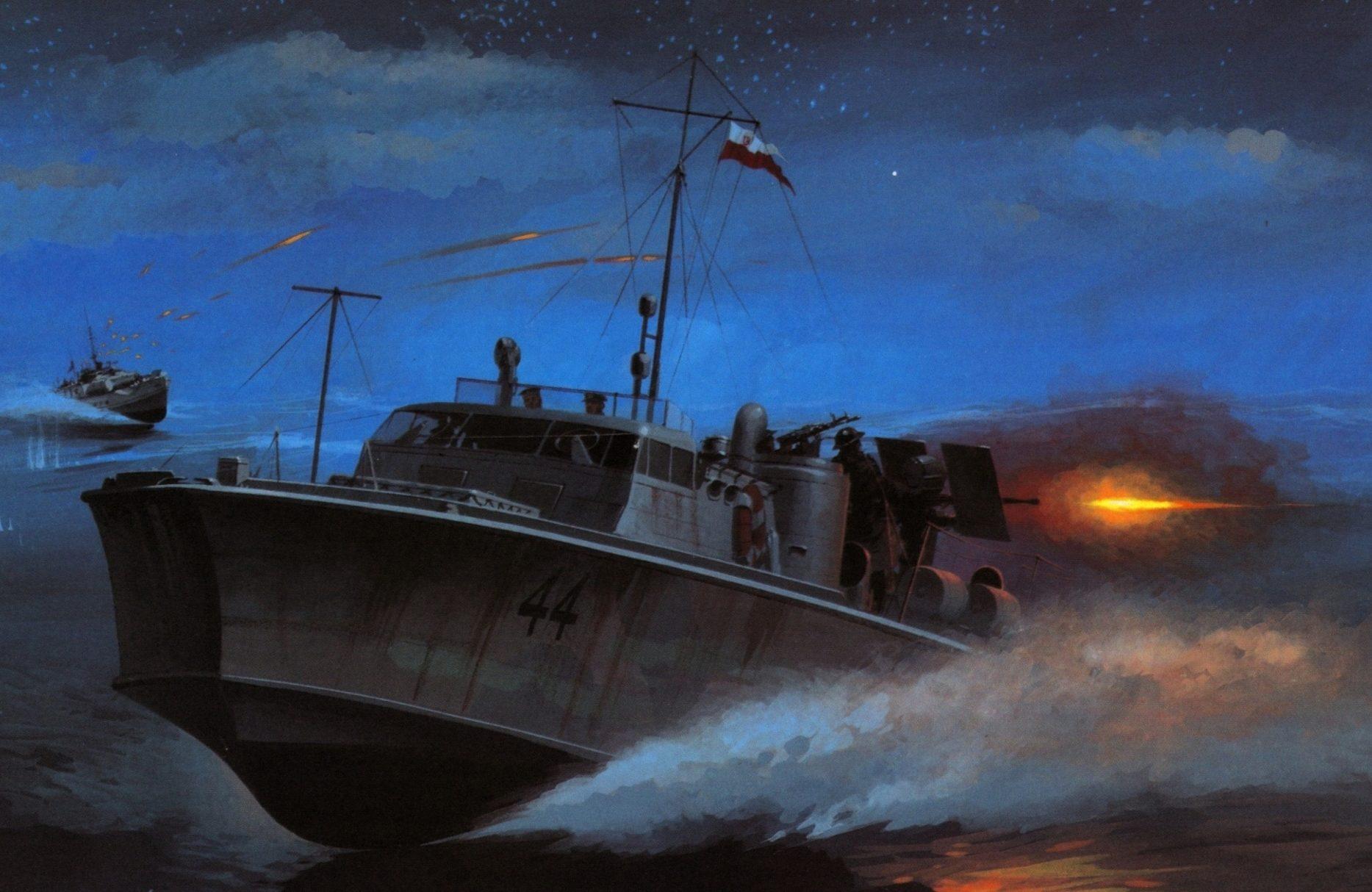 Wrobel Jaroslaw. Катер S-2 Wilczur.