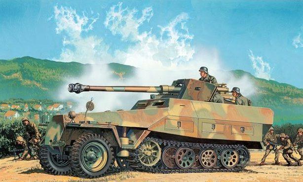 Satake Masao. Бронетранспортер Sd.Kfz. 251/22 Ausf. D.