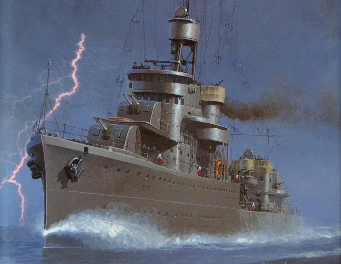 Wrobel Jaroslaw. Эсминец класса «Гром».