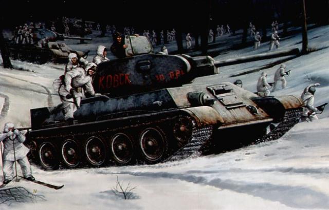 Wai Vincent. Танки Т-34-76.