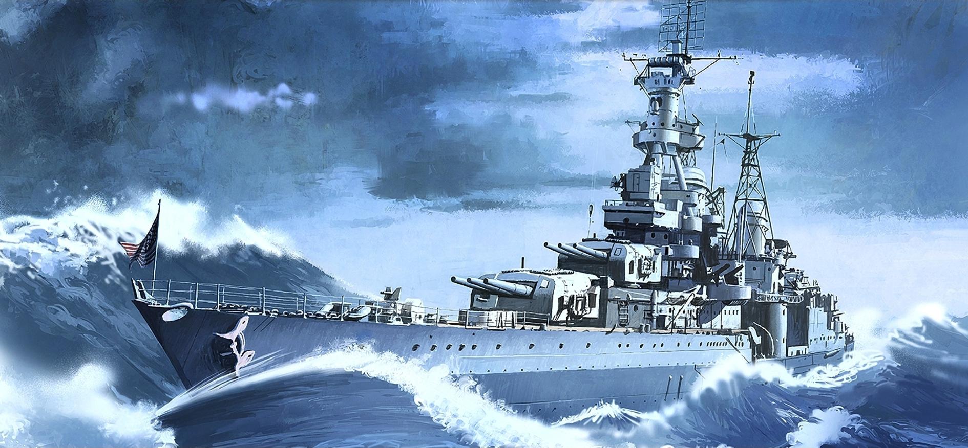 Heum Chang. Крейсер Indianapolis.