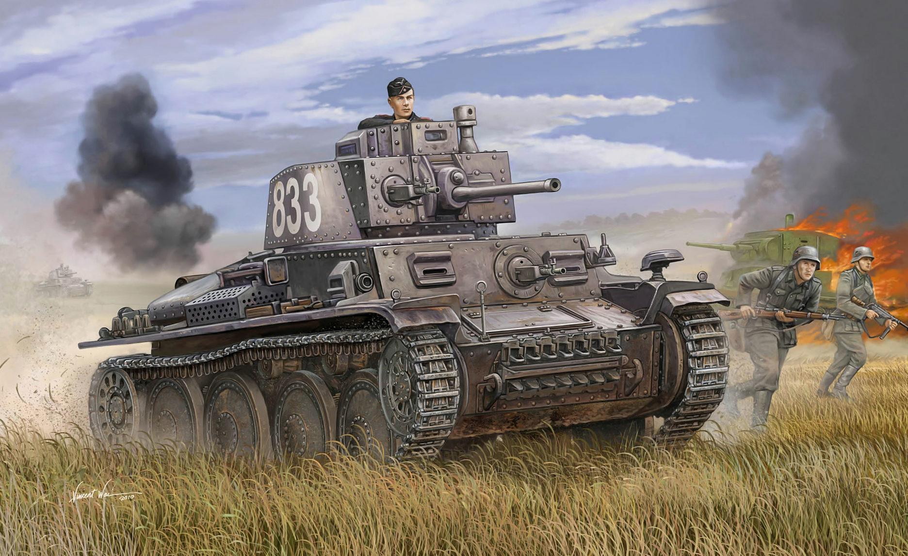 Wai Vincent. Танк Pz.Kpfw. 38(t).