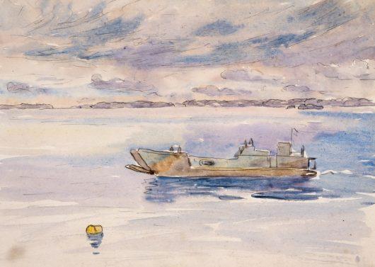 Barns-Graham Allan. Десантные корабли.
