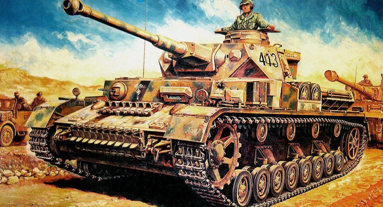 Ueda Shin. Танк Pz.Kpfw. IV Ausf J.