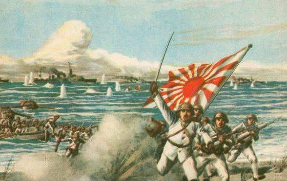 Suzuki Gomizu. Морской десант.