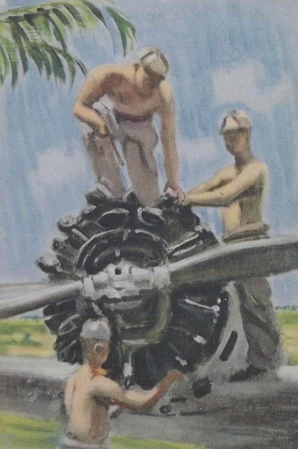 Kenichi Nakamura. Ремонт двигателя.