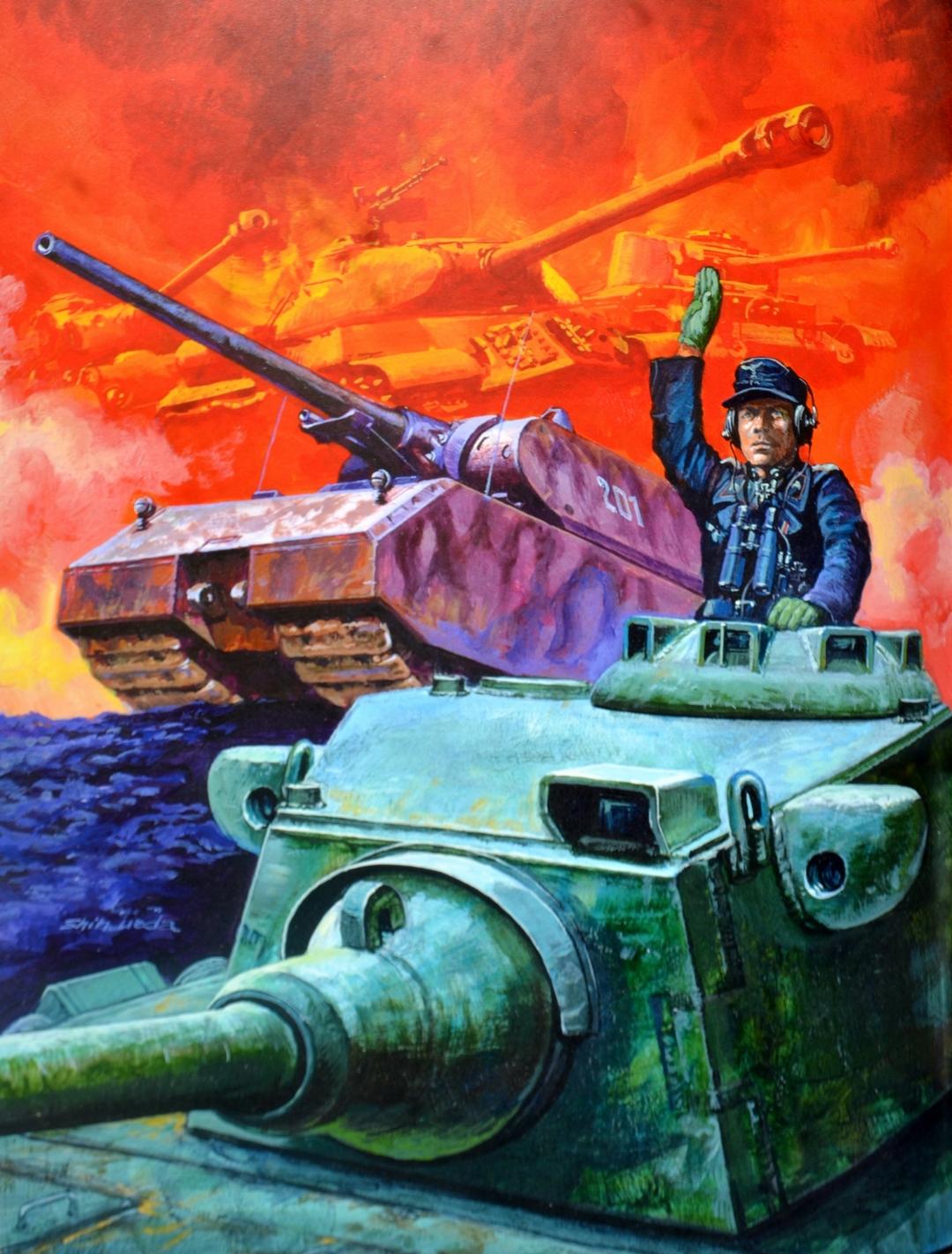 Ueda Shin. Танк Pz.Kpfw.V Ausf.F.