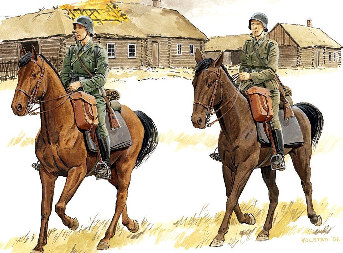 Volstad Ronald. 1-й кавалерийская дивизия.