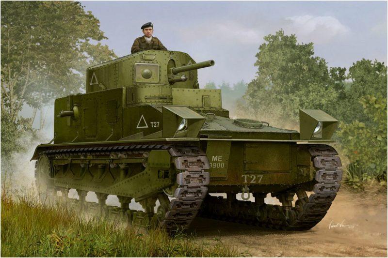 Wai Vincent. Танк Vickers Mk.I.